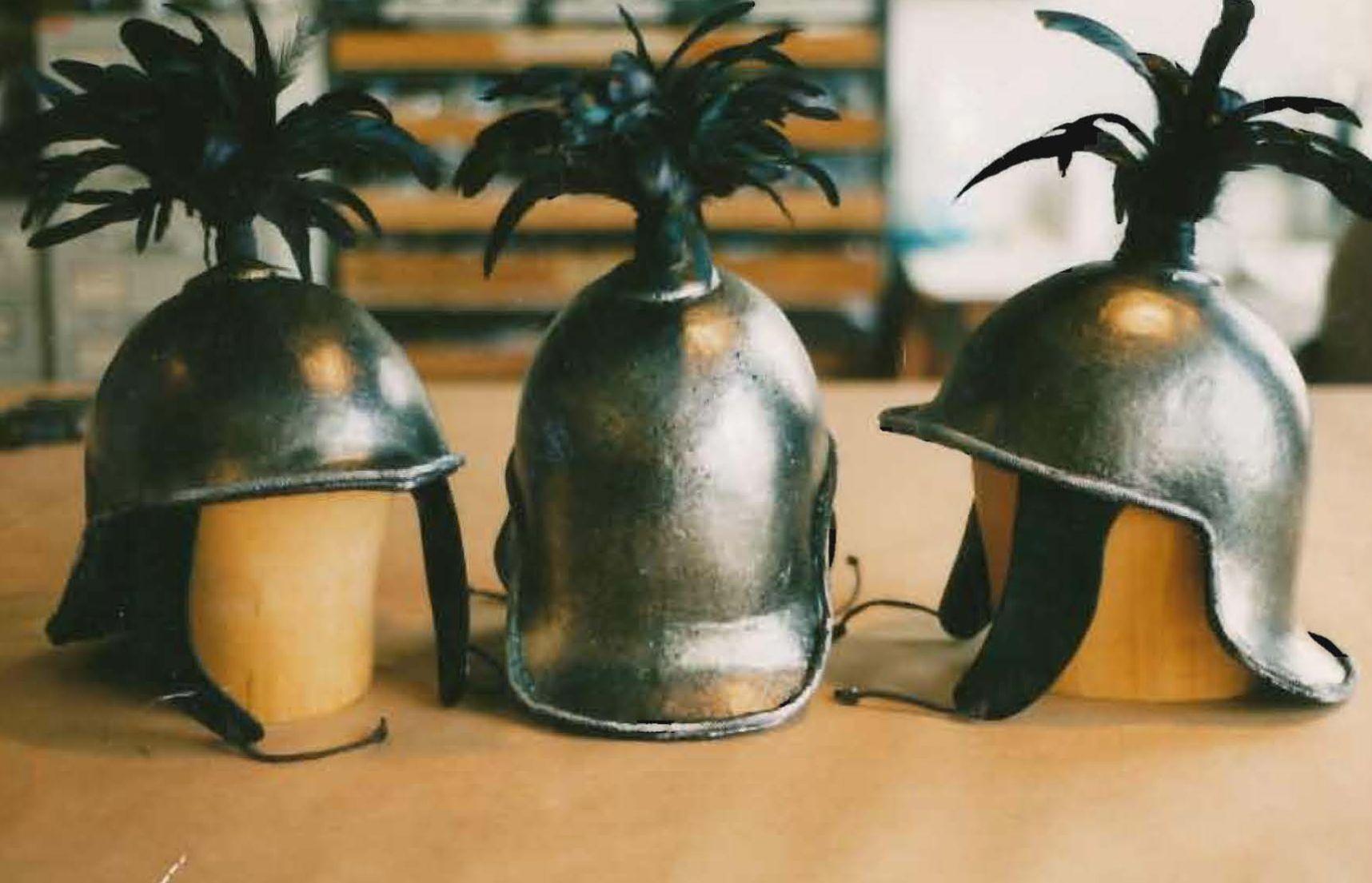 Helmets, Vatican Guards