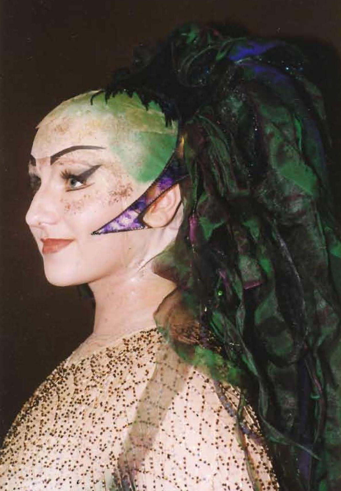 Rhinemaiden tiara with fabric