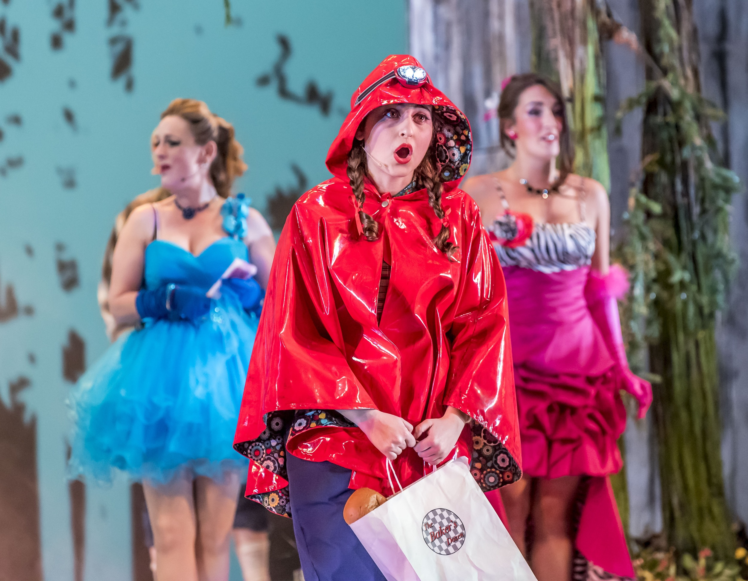 Little Red (with Florinda and Stepmother): ACT I
