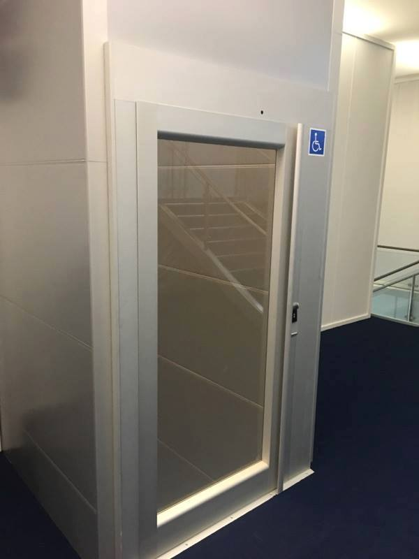 Vertical platform lift by KEP Lifts