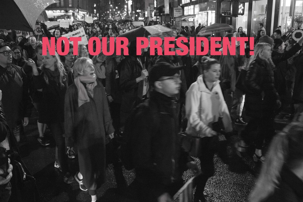 Not Our President!