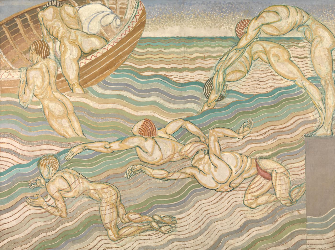 "Duncan Grant, ""Bathing"" (1911)"