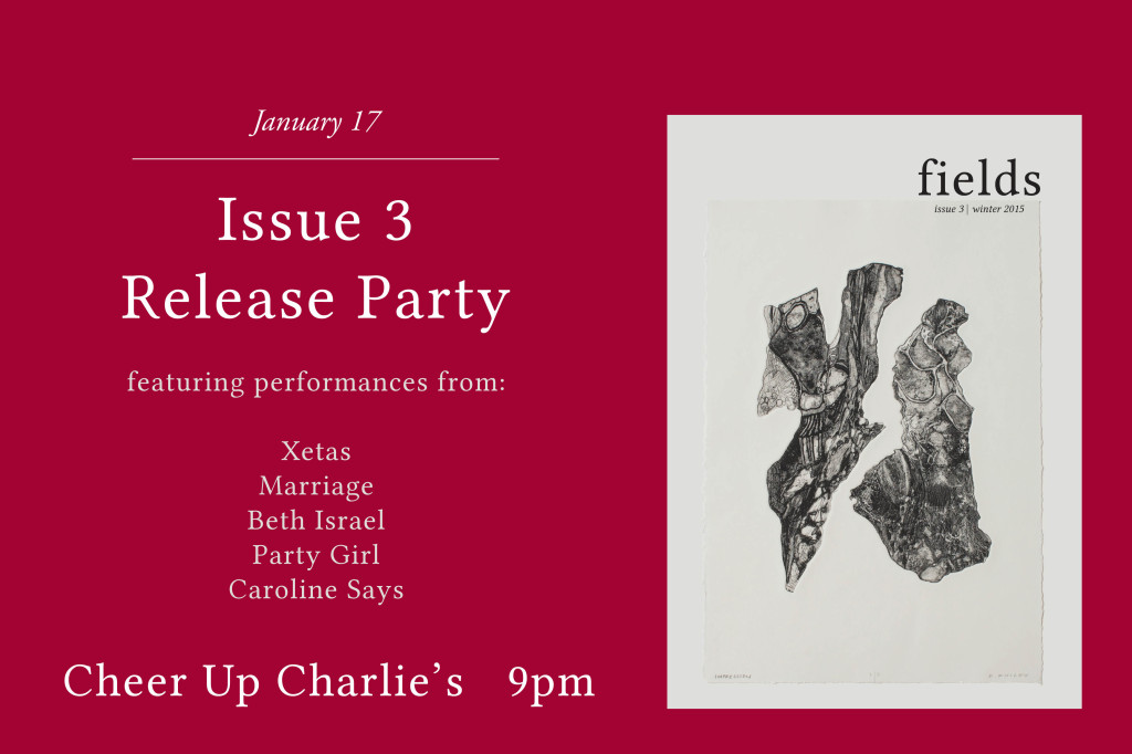 Issue 3 Release Party slider