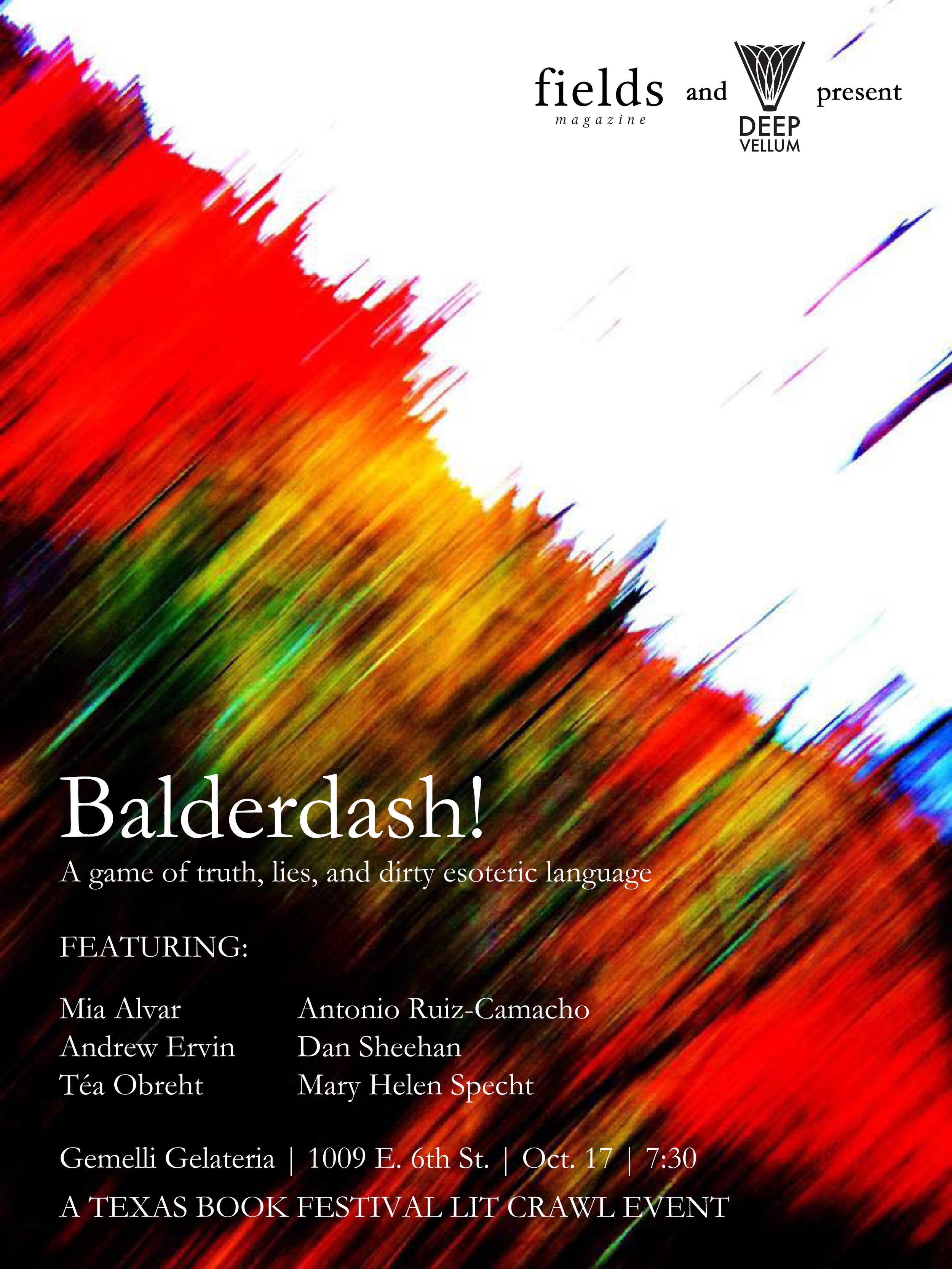 Balderdash poster