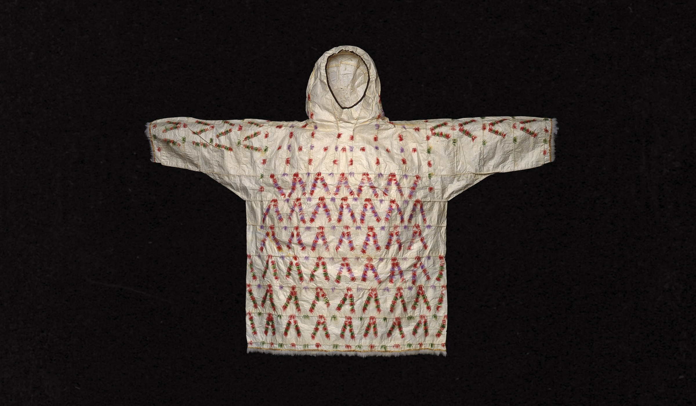 Indigenous American parka, ca. 1890-1910. Image courtesy John Bigelow Taylor, collection of Minneapolis Institute of Art/ Longreads .