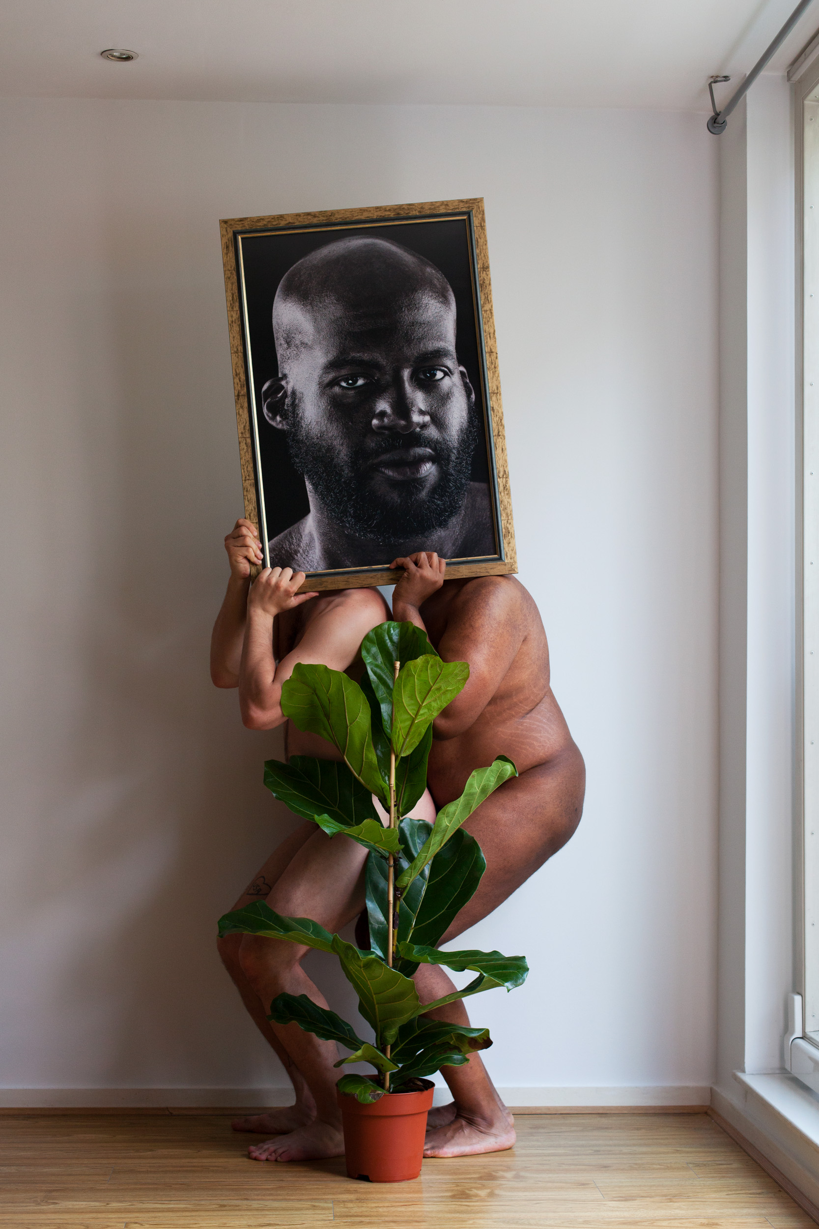 Self Portrait with Blake (2018)
