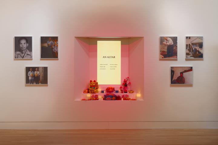 Jane Wong,  Altar  (2019). Image courtesy the Frye Art Museum/ Hyperallergic .