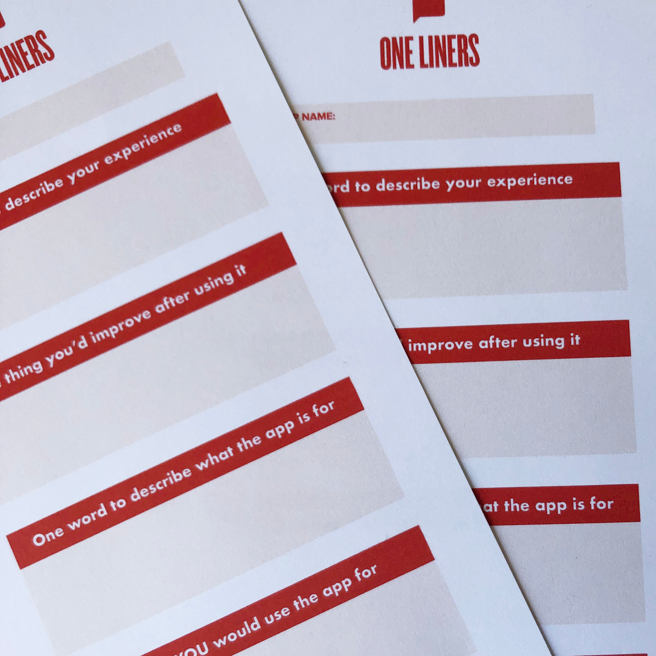One Liners -