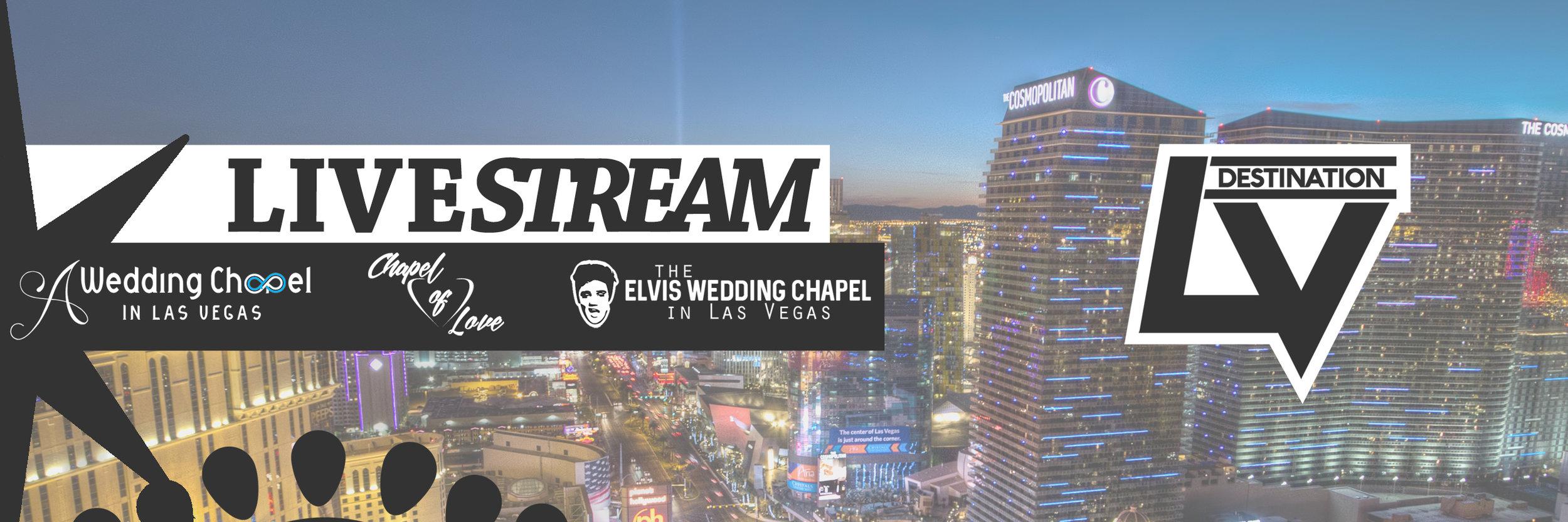 Las Vegas Wedding Chapel Live Video Stream
