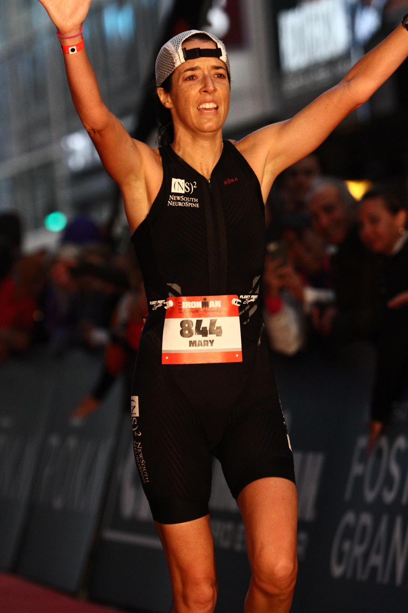 Dr. Robinson qualifies for the upcoming Ironman World Championship in Kona.