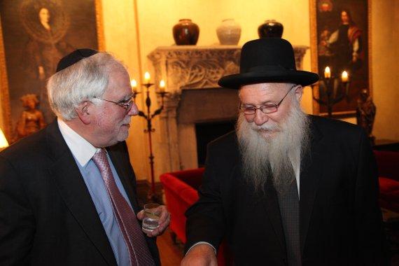 Rabbi Drukman and Prof. Richard Stone