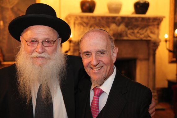 Rabbi Drukman with Rabbi Haskel Lookstein