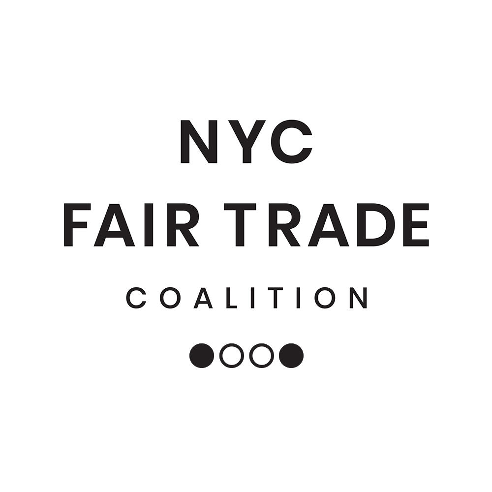 The NYC Fair Trade Coalition is a grassroots organization that promotes fair trade businesses and retailers in New York City and educates consumers on the importance of fair trade. It partners with ethically-aligned businesses, retailers, NGOs, and citizens in New York City to host events and engage the public in dialogue. Other Fair Trade Coalition can be found in other US States.