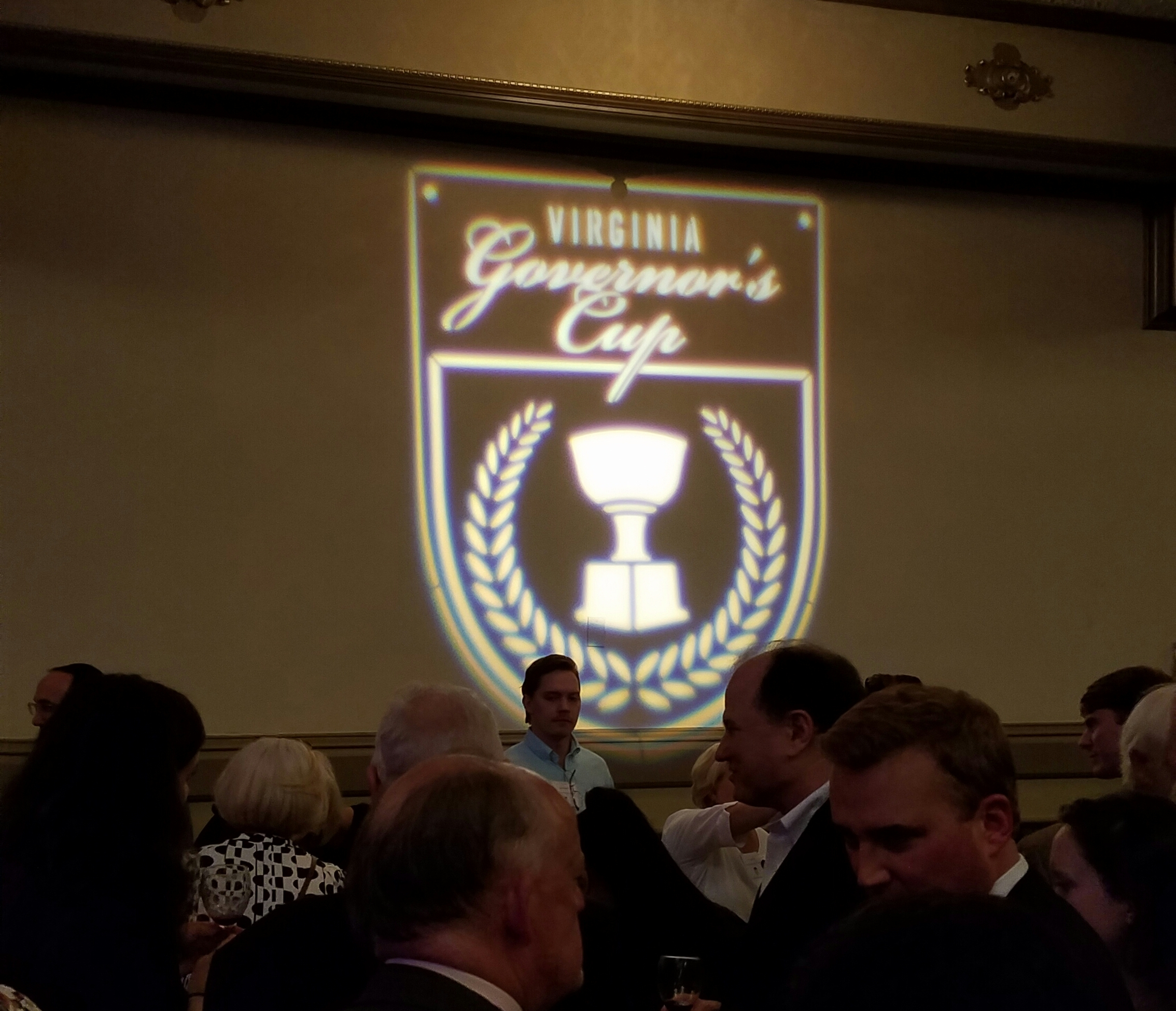 Hundreds from the virginia wine industry gathered in richmond at the john marshall hotel on tuesday, feb. 21 for the VA Wine Association governor's cup gala and award ceremony, hosted by the Virginia Wine Board..