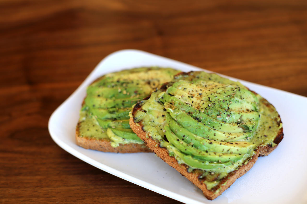 Avocado toast at Fruitive.  (photo by Fruitive)
