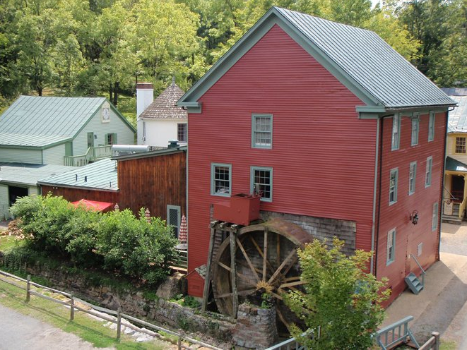 The Inn at Gristmill Square, Warm Springs, VA.