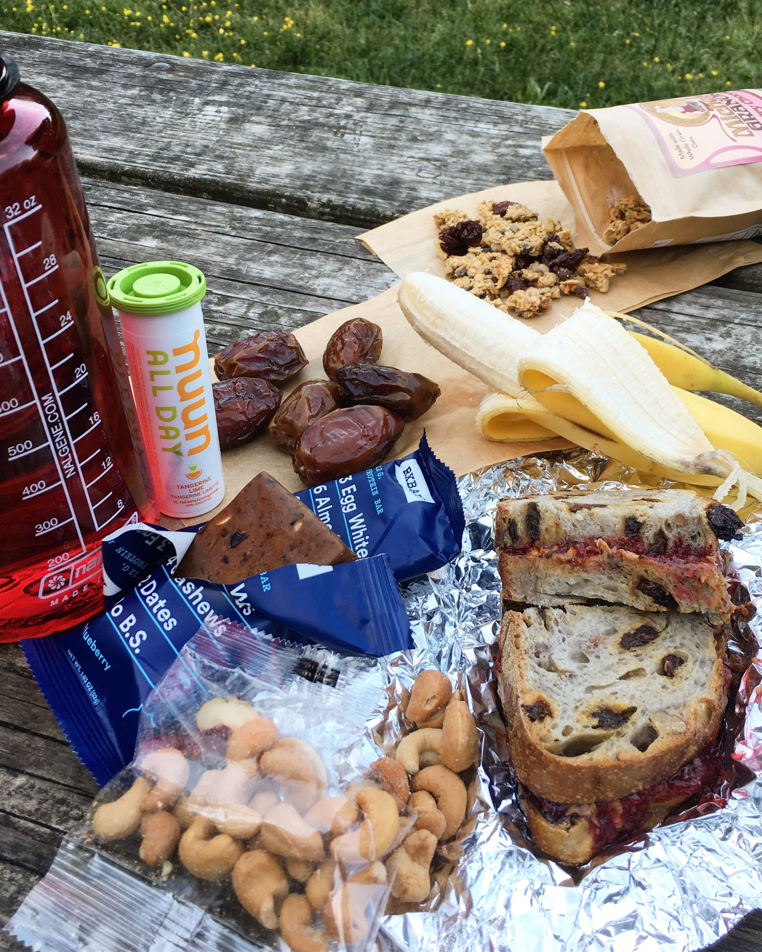 Pack lunch or snacks for Rock Creek Trail