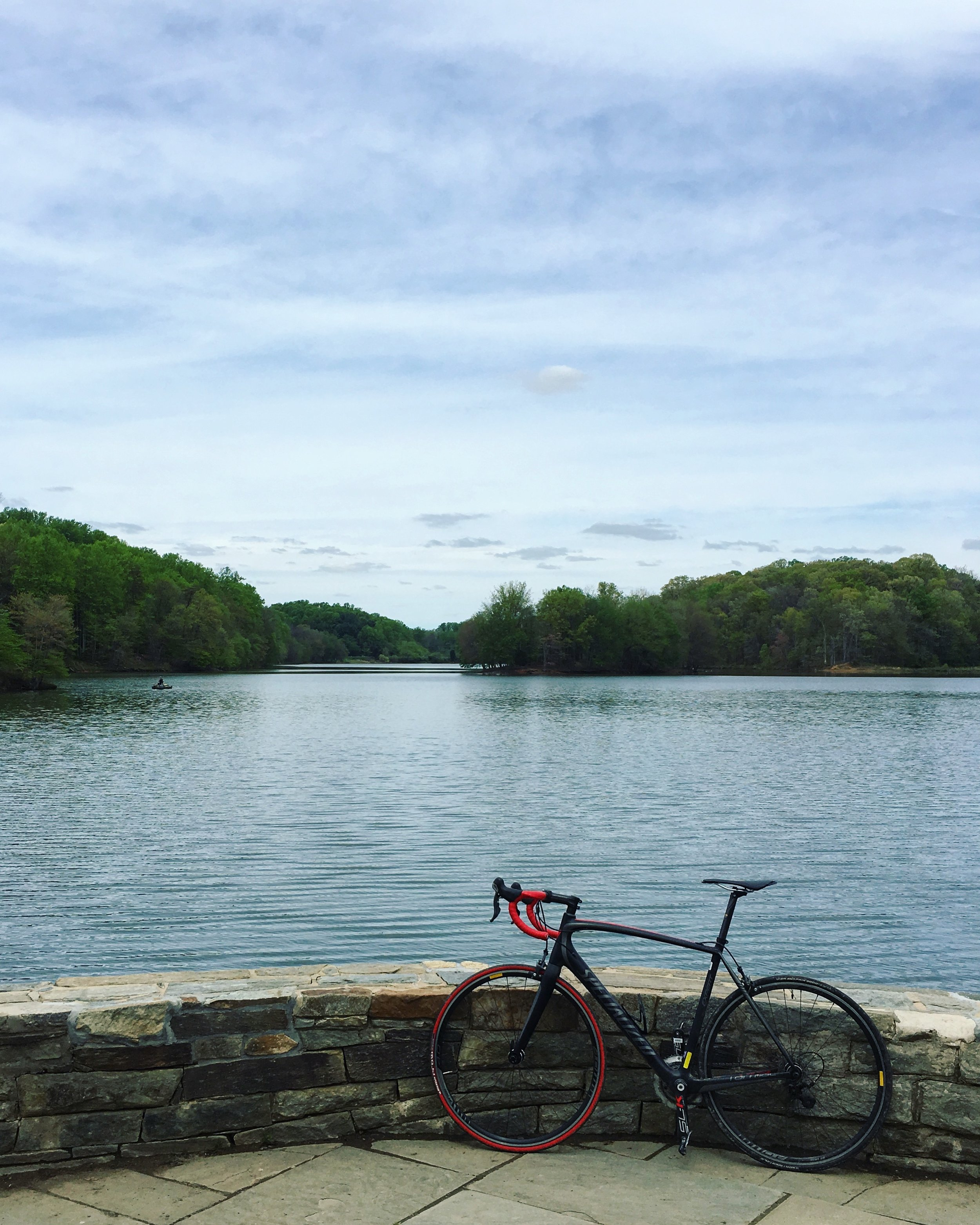 The DMV offers great trails for cyclists.