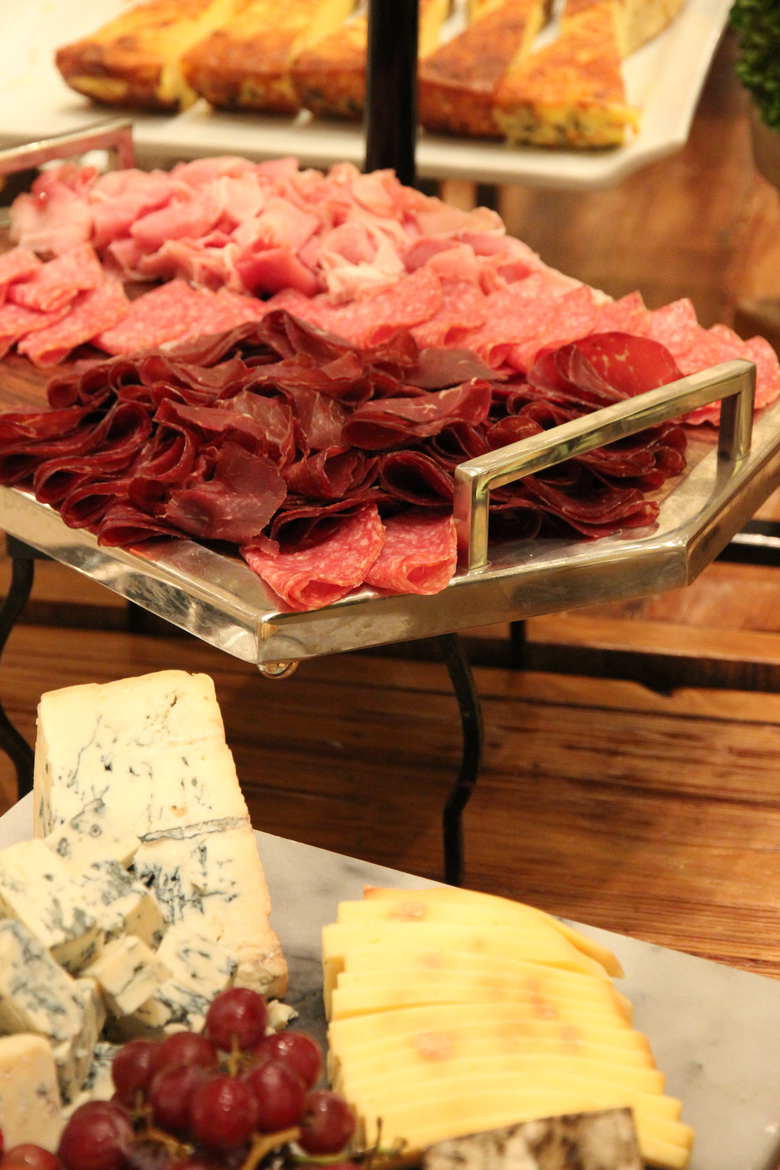 Charcuterie and cheese at the National Gallery of Art Garden Cafe brunch. ( Photo compliments the National Gallery of Art )