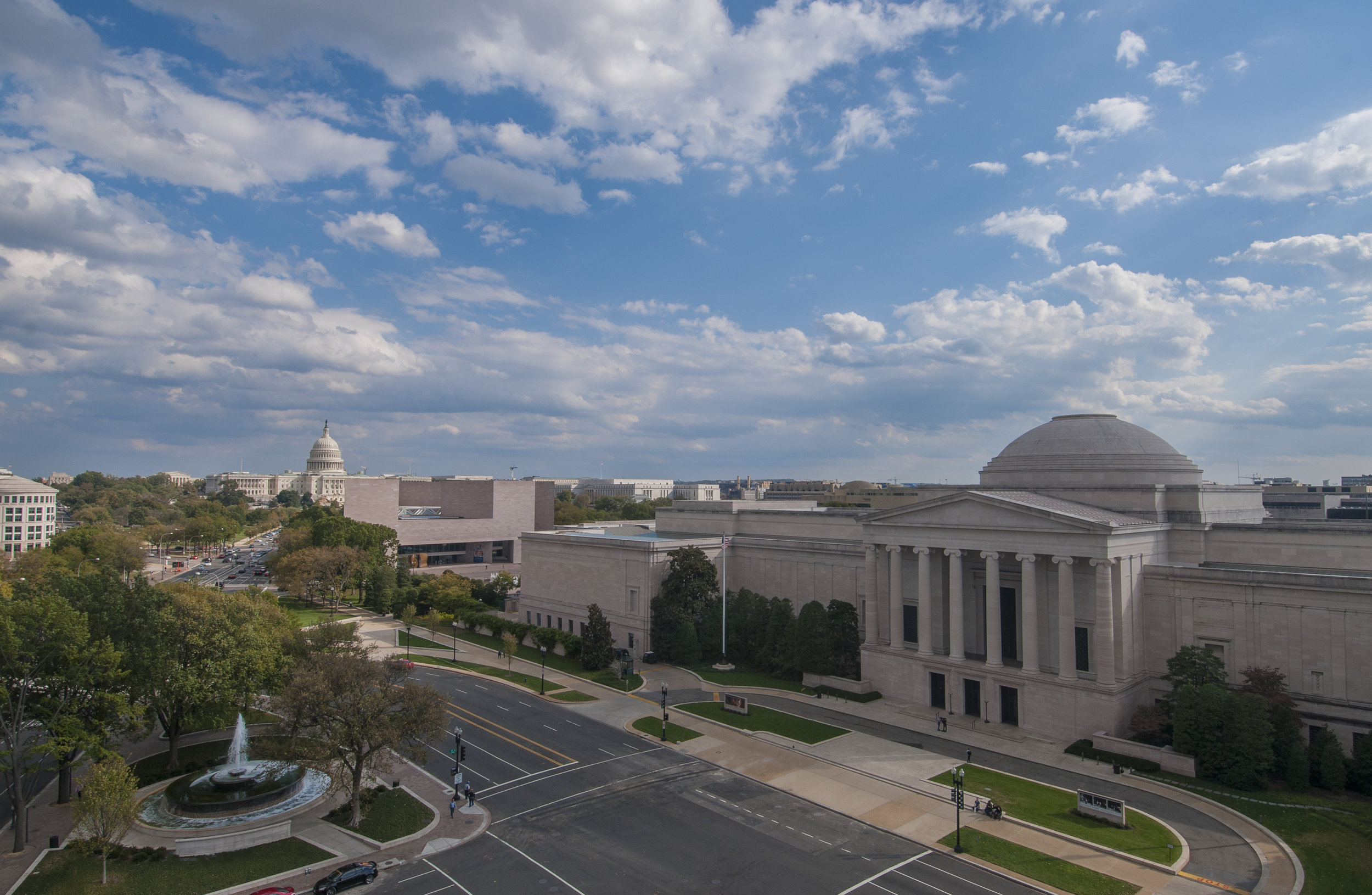 The National Gallery of Art. (Photo compliments of the National Gallery of Art)