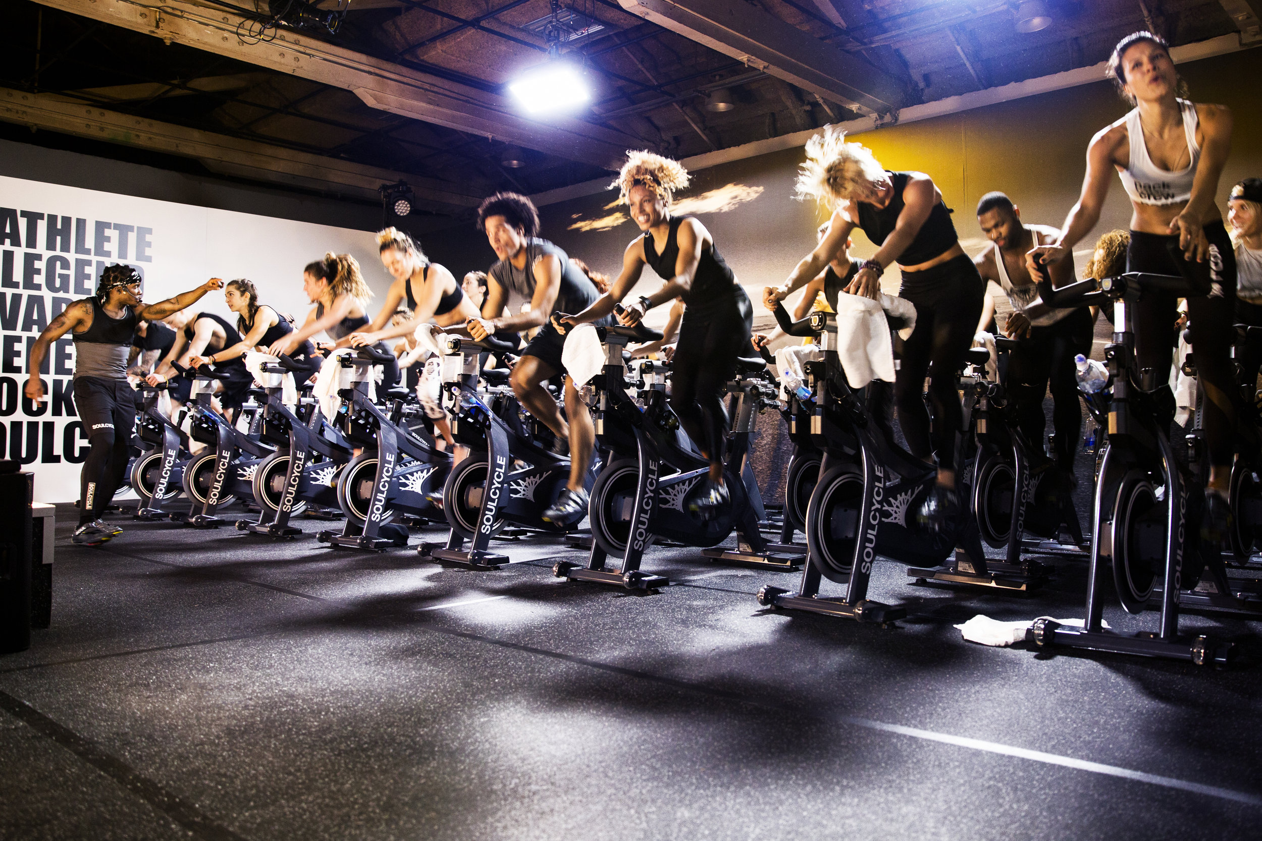 SoulCycle studio (Photo compliments SoulCycle)