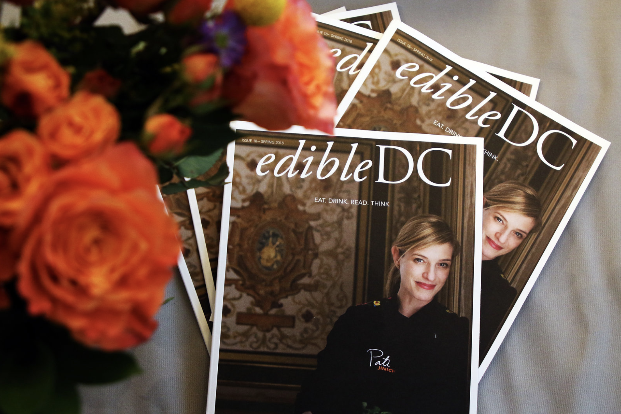 The Spring issue of EdibleDC Magazine.