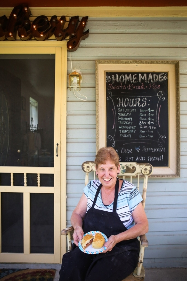 Terri Wilson makes delicious pepperoni rolls at her bakery, A Step in Time.