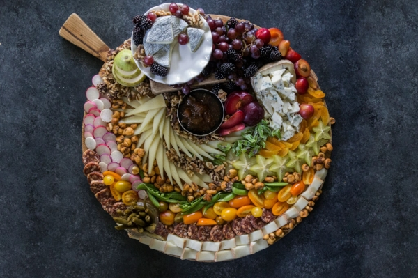 Artfully arranged cheese spreads like this one can elevate any gathering—and they're surprisingly easy to create with just a few simple guidelines.