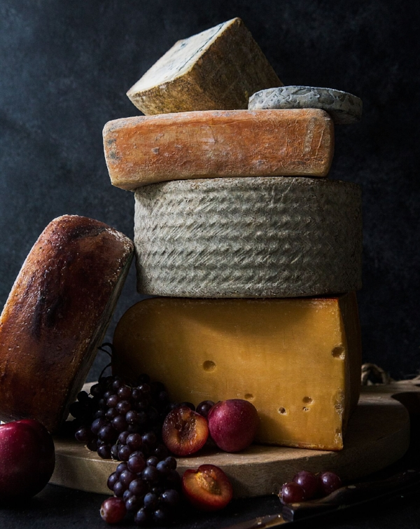 Including multiple types of cheese allows your guests to enjoy a mixture of flavors and textures.