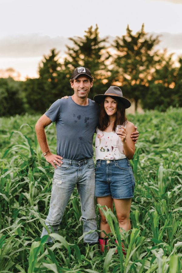 Matt Rales and Abigail Fuller, the duo behind A Perfect Day Farm.