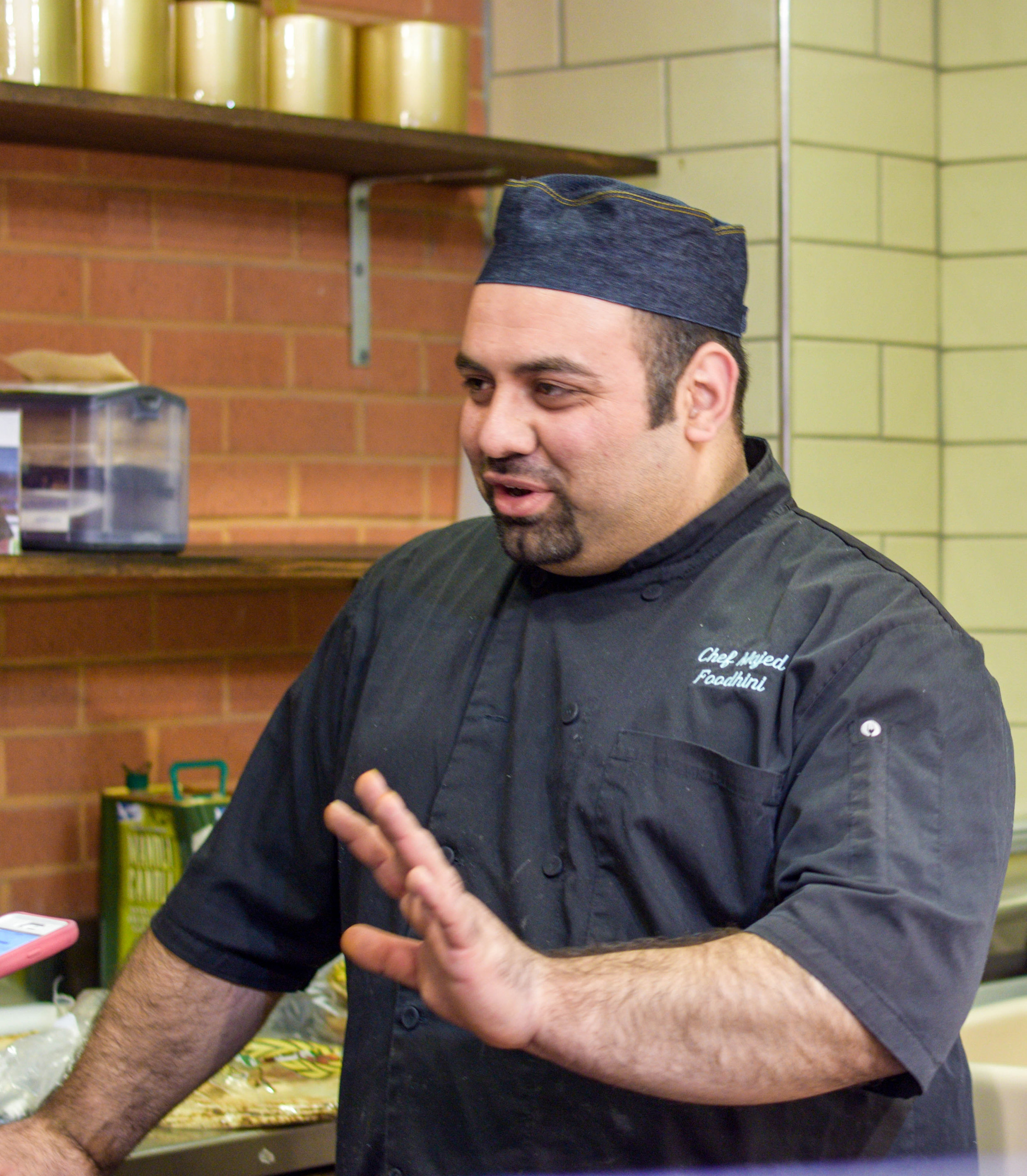 Syrian Chef Majed Abdulraheem will be in charge of the Foodhini operations at Foggy Bottom.