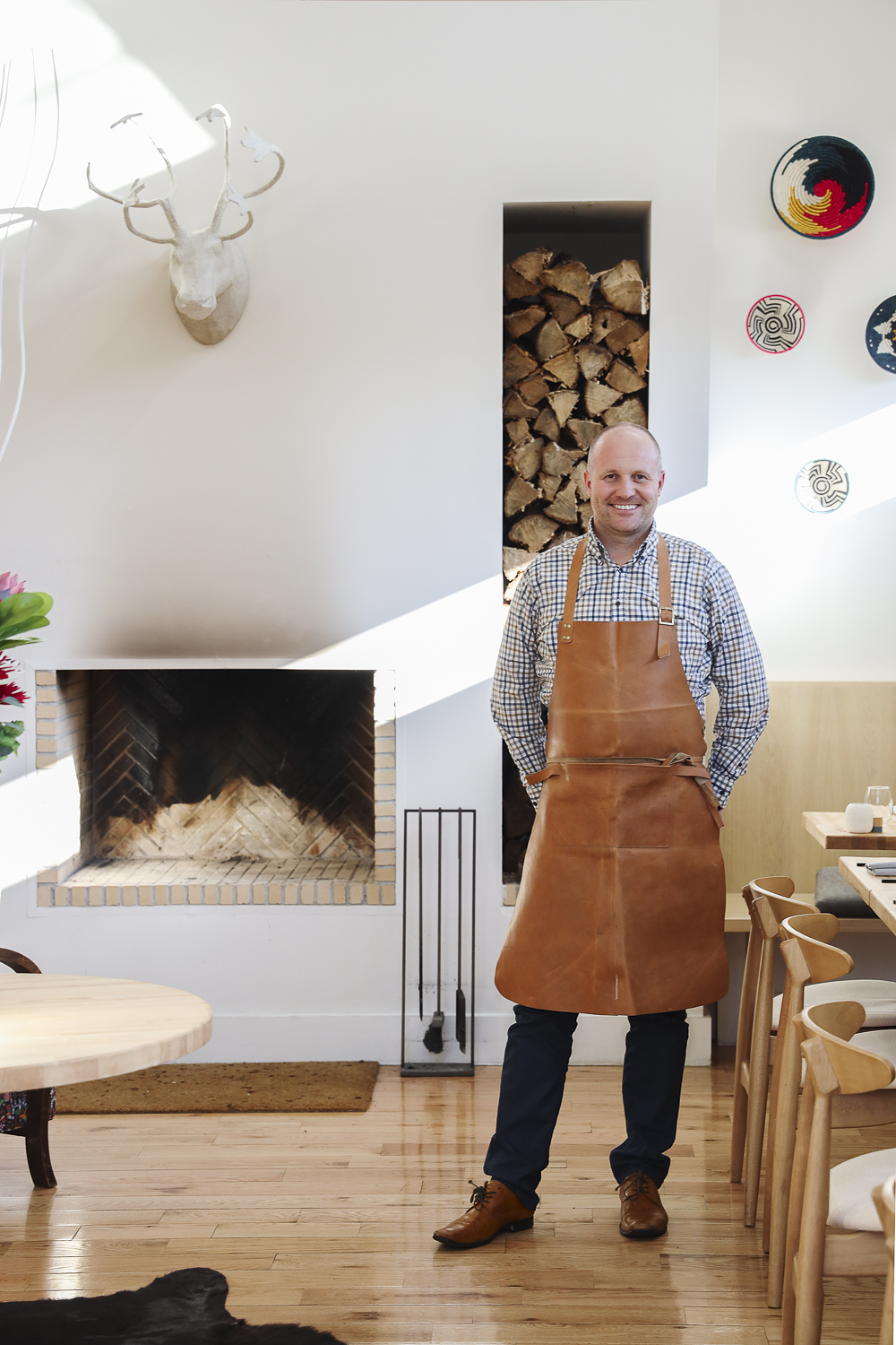 Chef Frederik de Pue designed not only the menu, but also the space at Flamant.