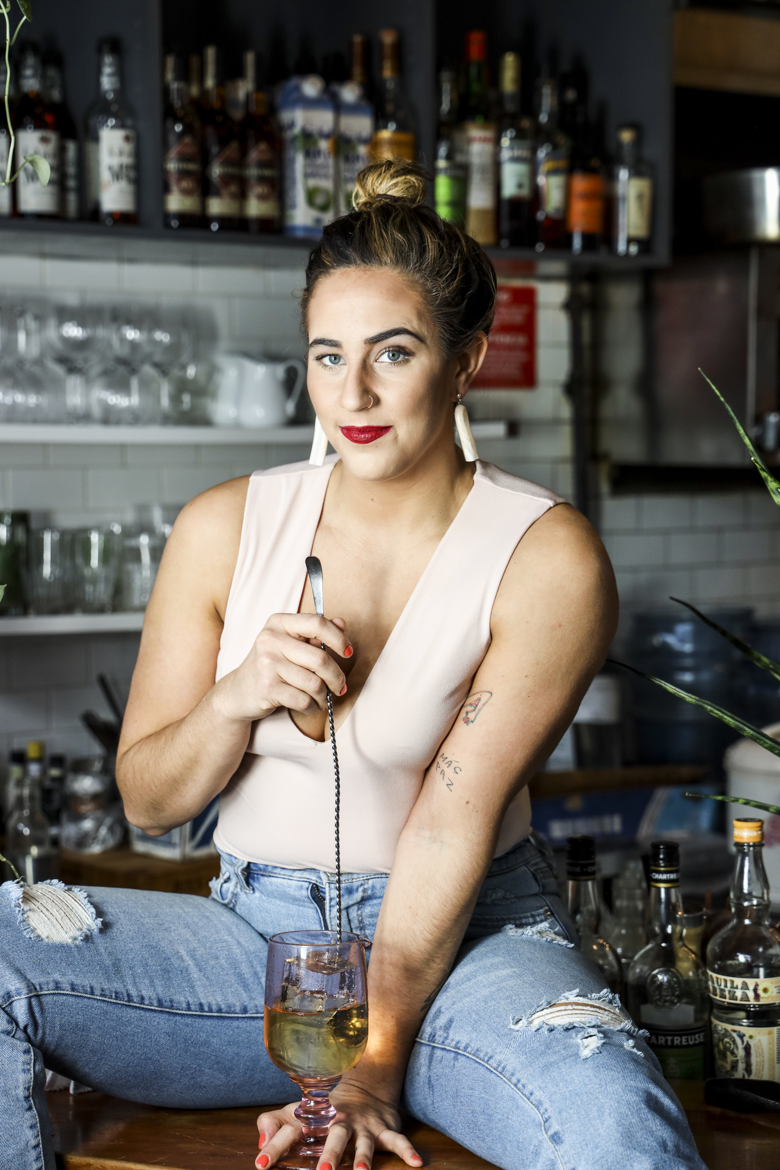 Carlie Steiner has a lot to say, America, and she's speaking out loud, one cocktail at a time.