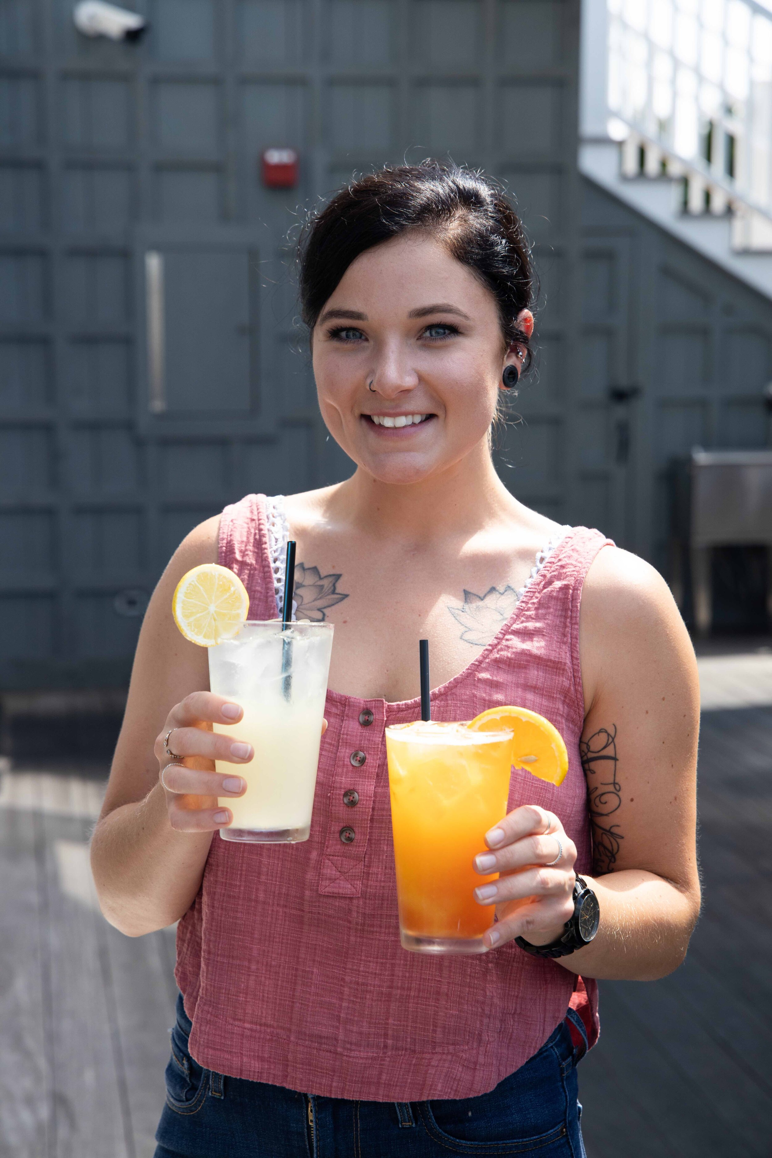 Ketch 22, a restaurant that is committed to showcasing local providers, has a full-on Crush menu, both at their outdoor bar overlooking the marina and the Bay and in their restaurant.