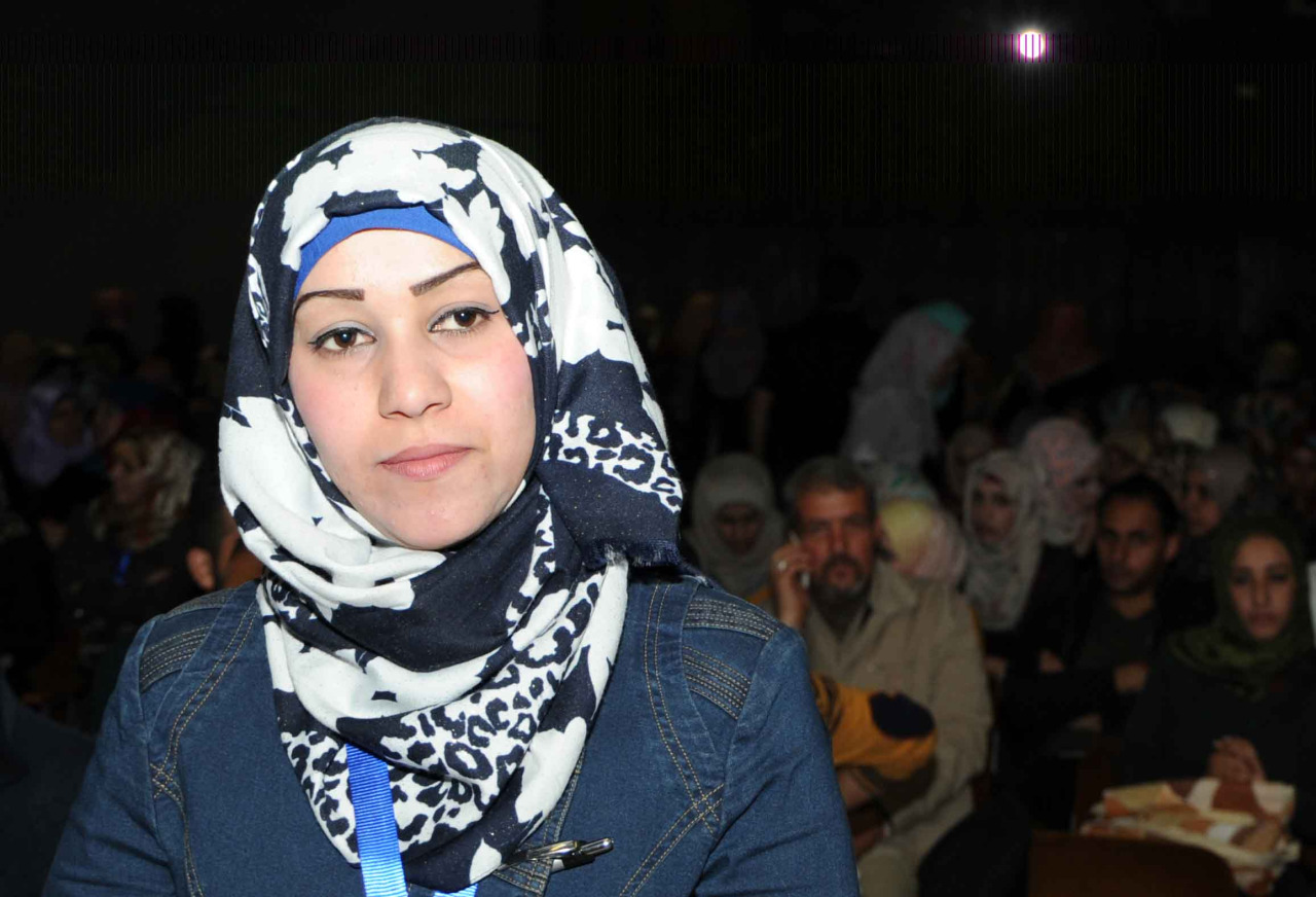 """Meet Nisreen, founder of the first kindergarten in her community and an ambitious public relations career woman.     Nisreen is also a Palestine refugee currently living in Gaza.  The mother of five children, Nisreen has lived all her life at the Al Maghazi refugee camp in central Gaza. She has entered the workforce at a time when Gaza's youth female refugee unemployment rate has surged to over 83%.   Nisreen completed a Bachelor of Arts degree in education, a diploma in public relations, and has used her skills to set up the first kindergarten in the refugee camp that she lives in. She is ambitious, thoughtful and, in spite of what could be insurmountable challenges; she is pushing hard against the odds that have her firmly in the 'unemployed and dependent on hand-outs' category. """"In Gaza it is especially hard to for a woman to prove herself among a society that is male dominated,"""" she said. """"But I have a good attitude, energy, and now the support needed to achieve - for me and for my family.""""  Her determination doesn't stop there. After a public relations work placement at the Palestine University, Nisreen received a six-month contract to continue. It is likely this will also be extended and she will push through to provide a better future for herself and her family.     Originally published in April 2015."""