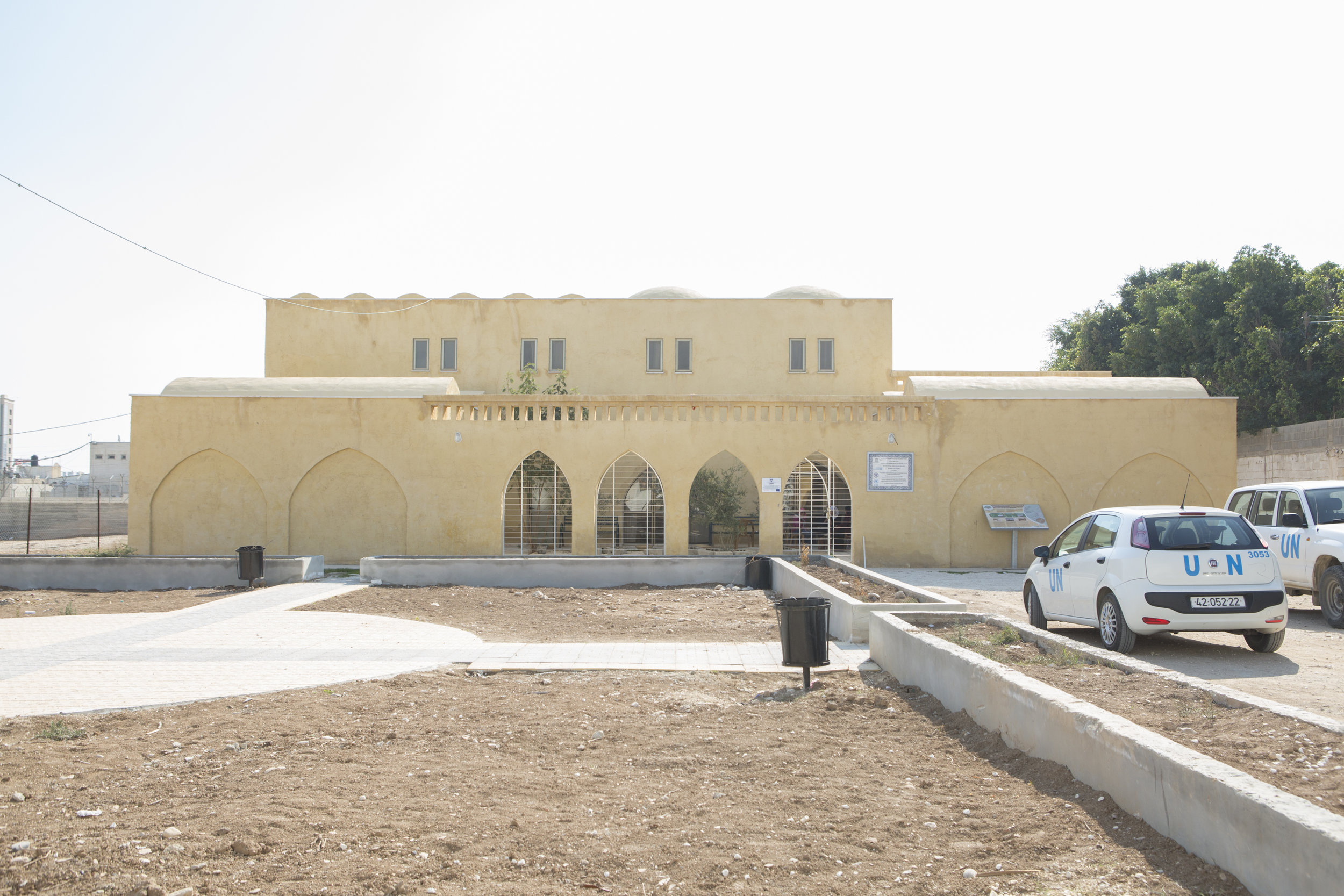The guesthouse in Aqbat Jaber