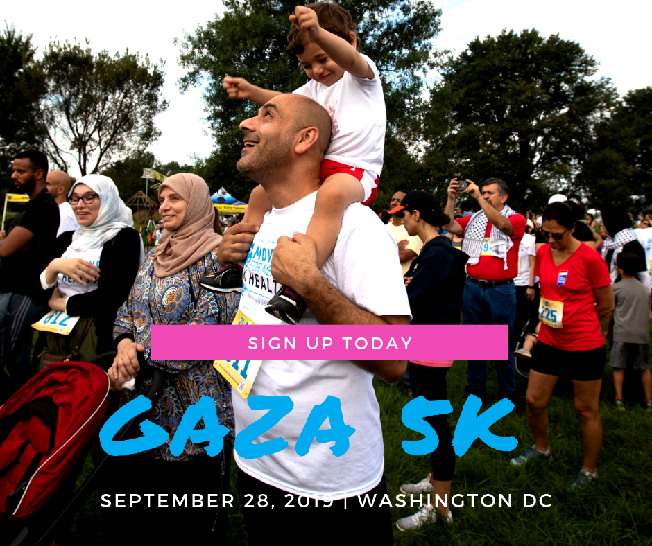 national gaza 5k walk/run washington dcseptember 28 - This historic week of actions culminates on Saturday, 9/28 for the national Gaza 5K walk/run which is being held at DC's Rock Creek Park .This annually held event raises funds for UNRWA mental health services for Palestine refugee children in the Gaza Strip, thanks to supporters from all around the US who step up and take action by fundraising for the cause.At the Gaza 5K, you will have the exciting opportunity to meet the Right to Movement Palestine runners and the UNRWA alumni that have come to DC from far and wide.Registration will stay open until 9/27 and we're hoping to have supporters join us from all around the country.