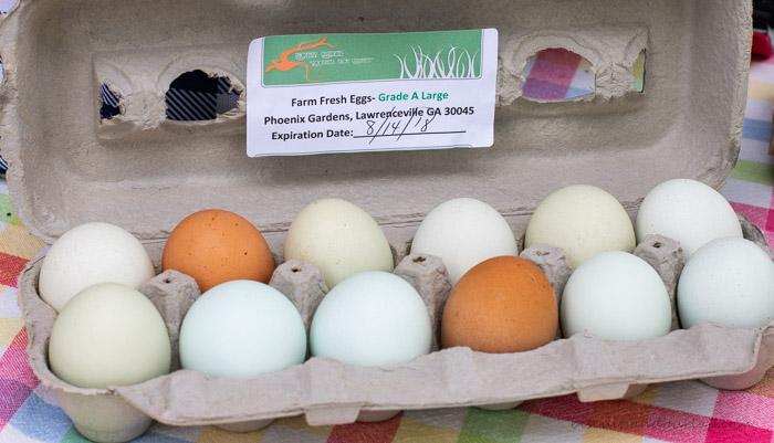 Farm Fresh Eggs from Phoenix Gardens