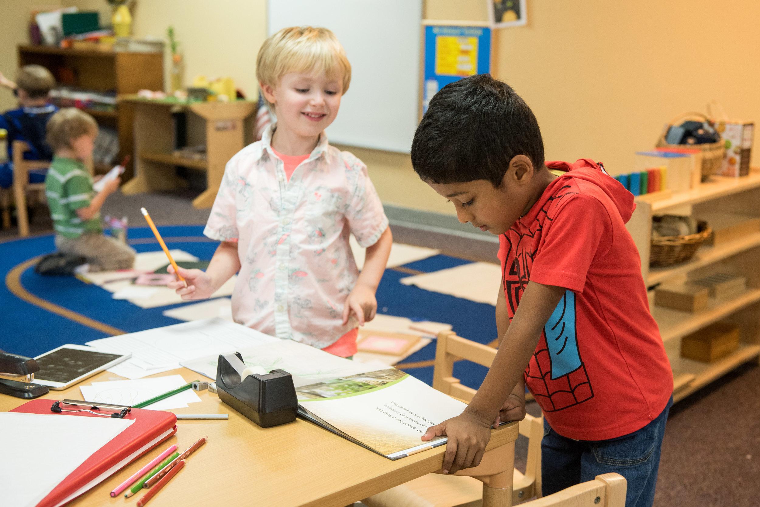 For children 3 years - Kindergarten