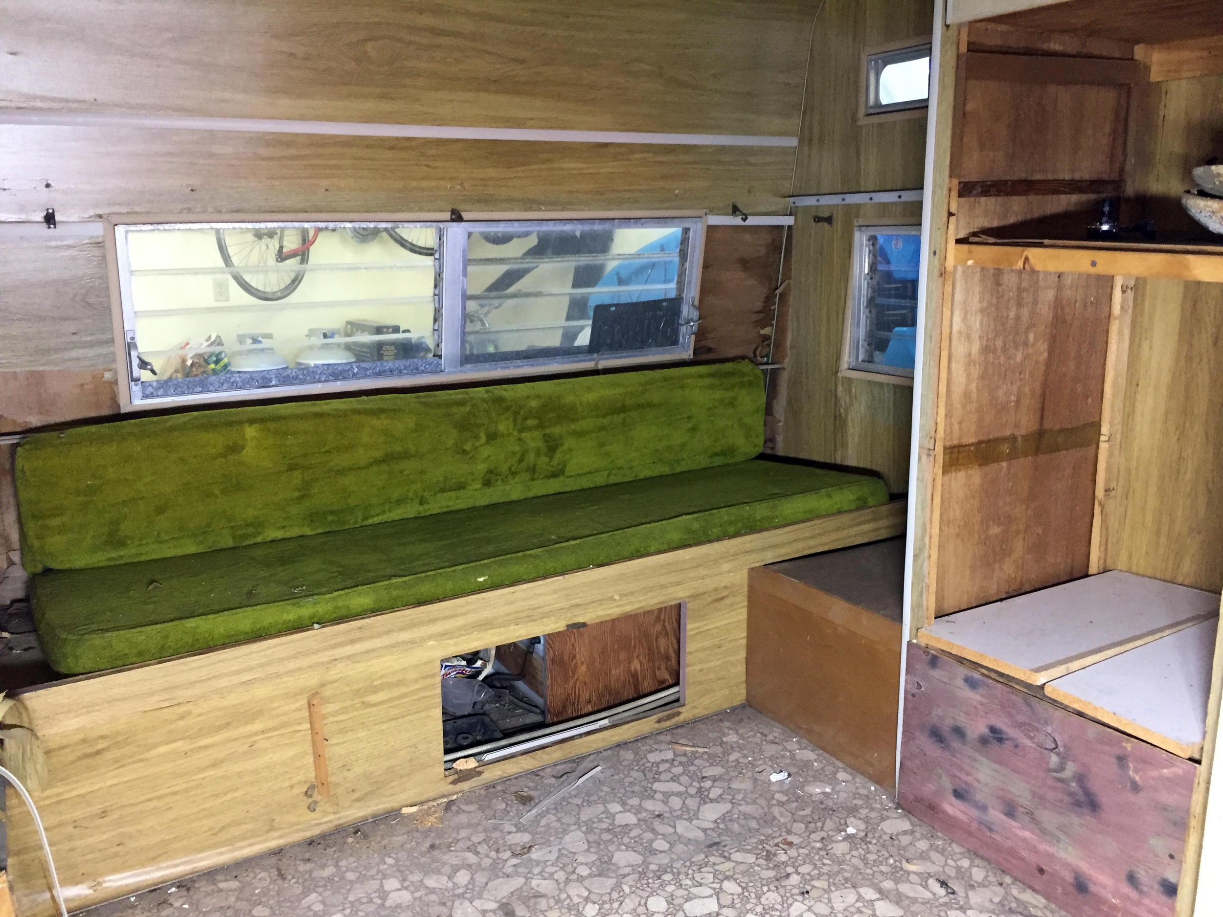Before —Left/Tail Interior