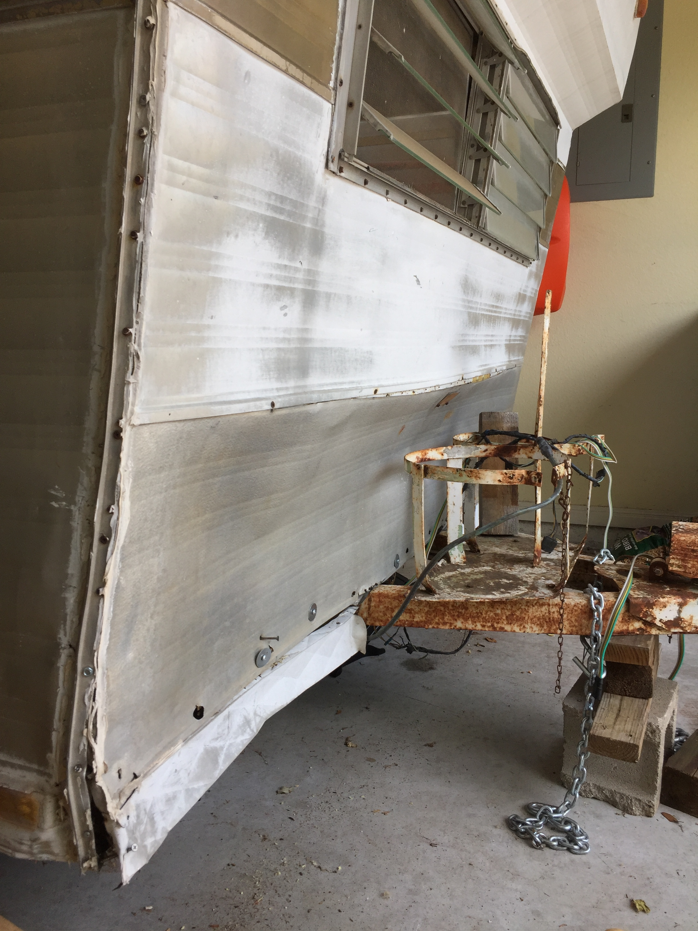 Post-demo — exterior front