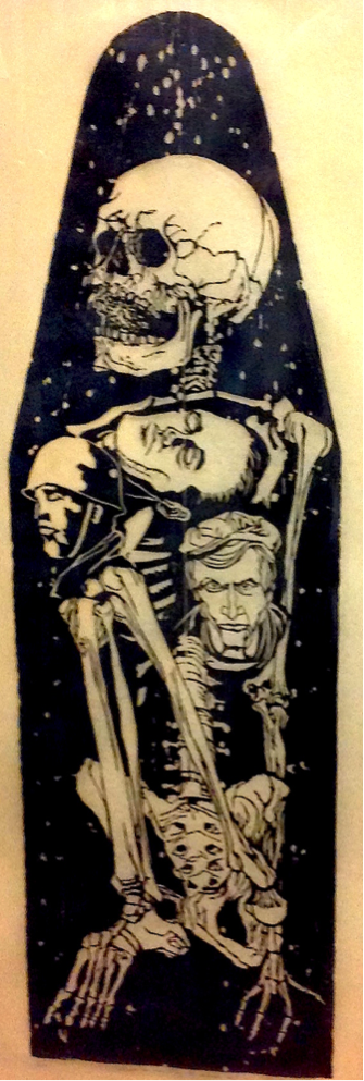 Vietnam War ironing board print (holding of U.S. Army Center of Military History), artist unknown