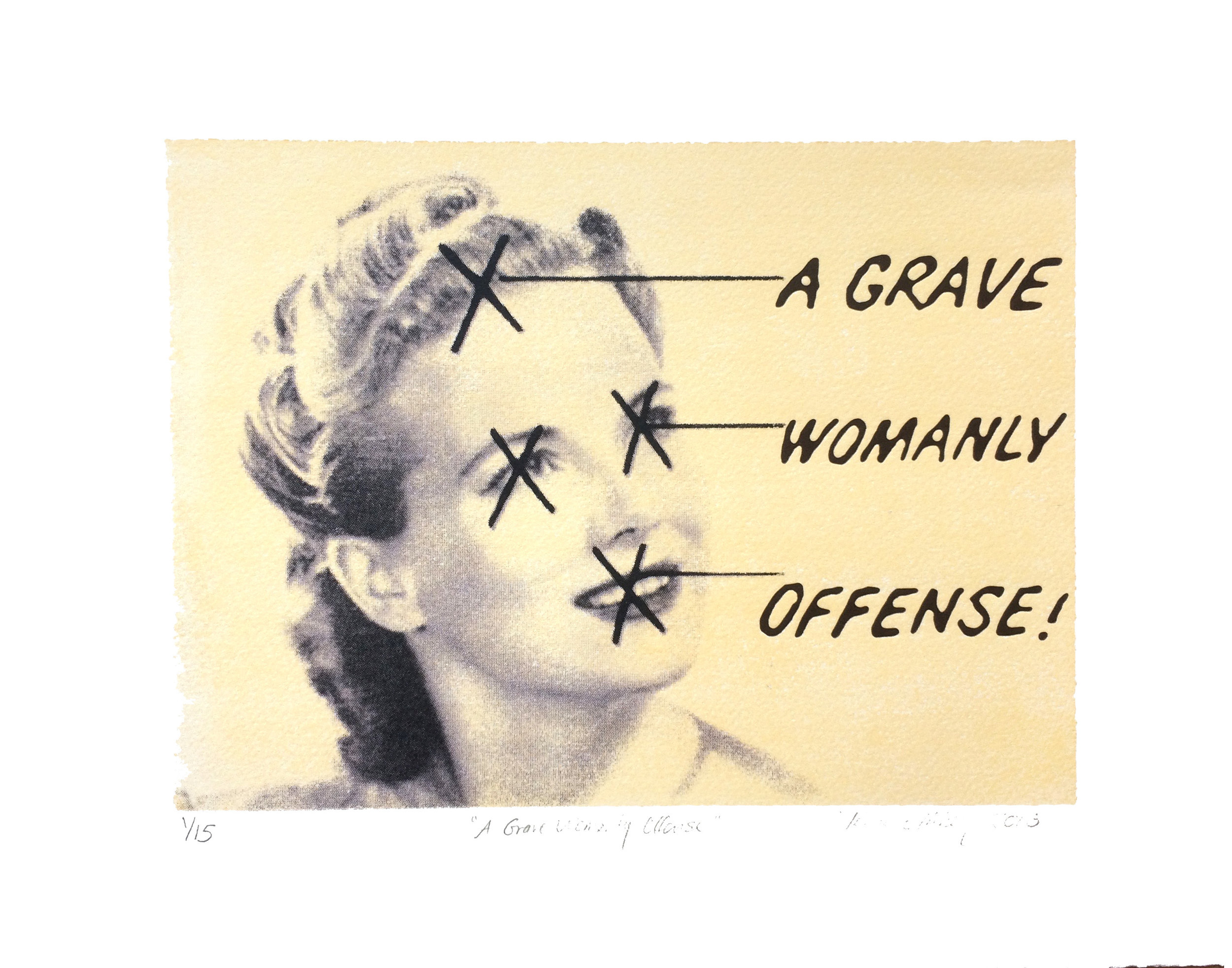 A Grave Womanly Offense