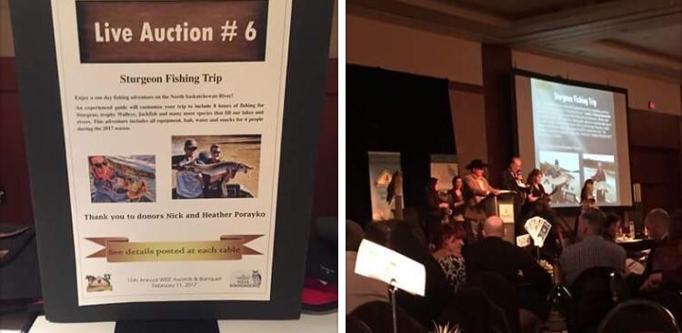 Calgary Hunter Education Association banquet 2017.