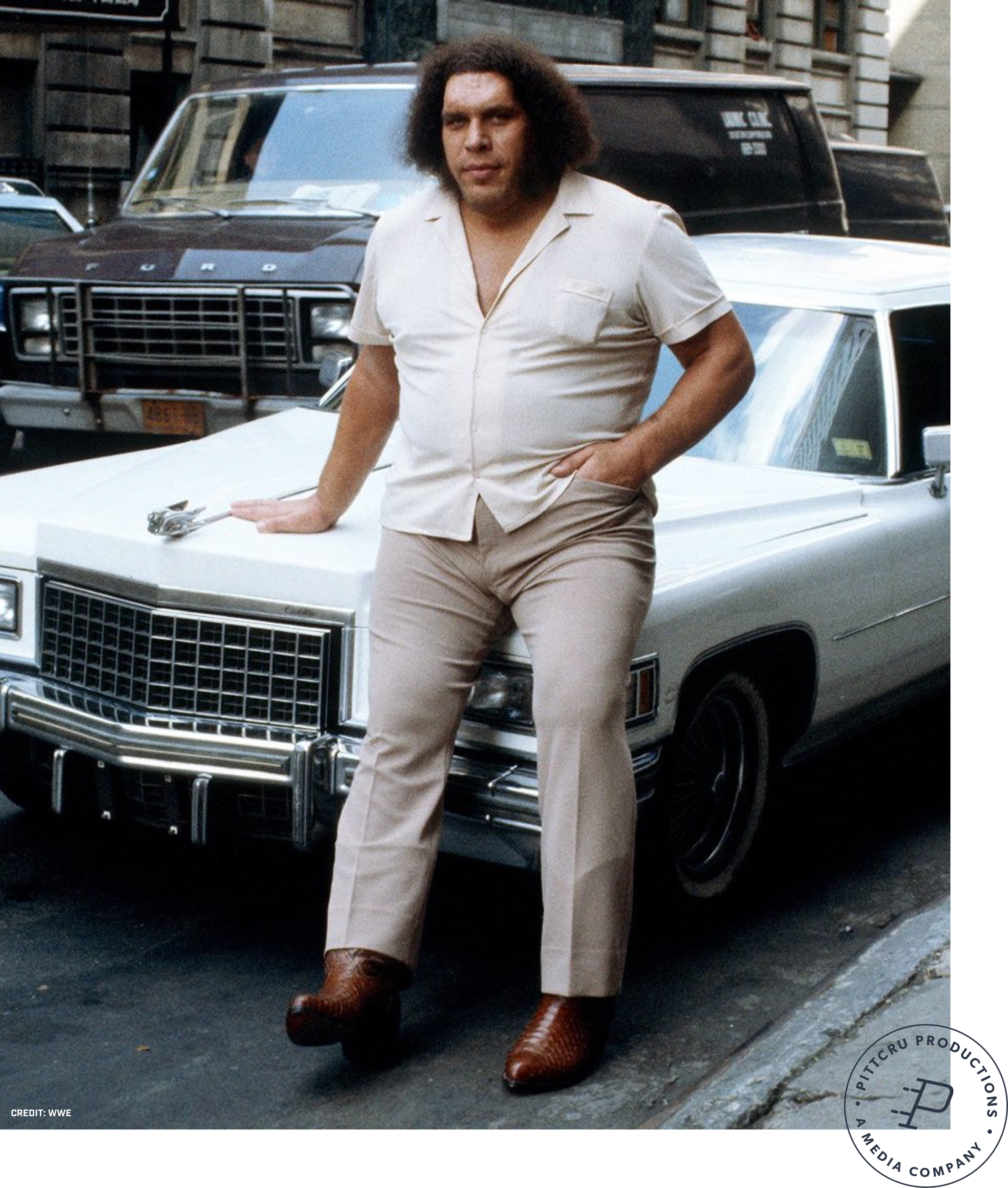 Andre the Giant - Working under the direction of Jason Hehir, PittCru produced the latest HBO Sports documentary,Andréthe Giant.Watch the Trailer