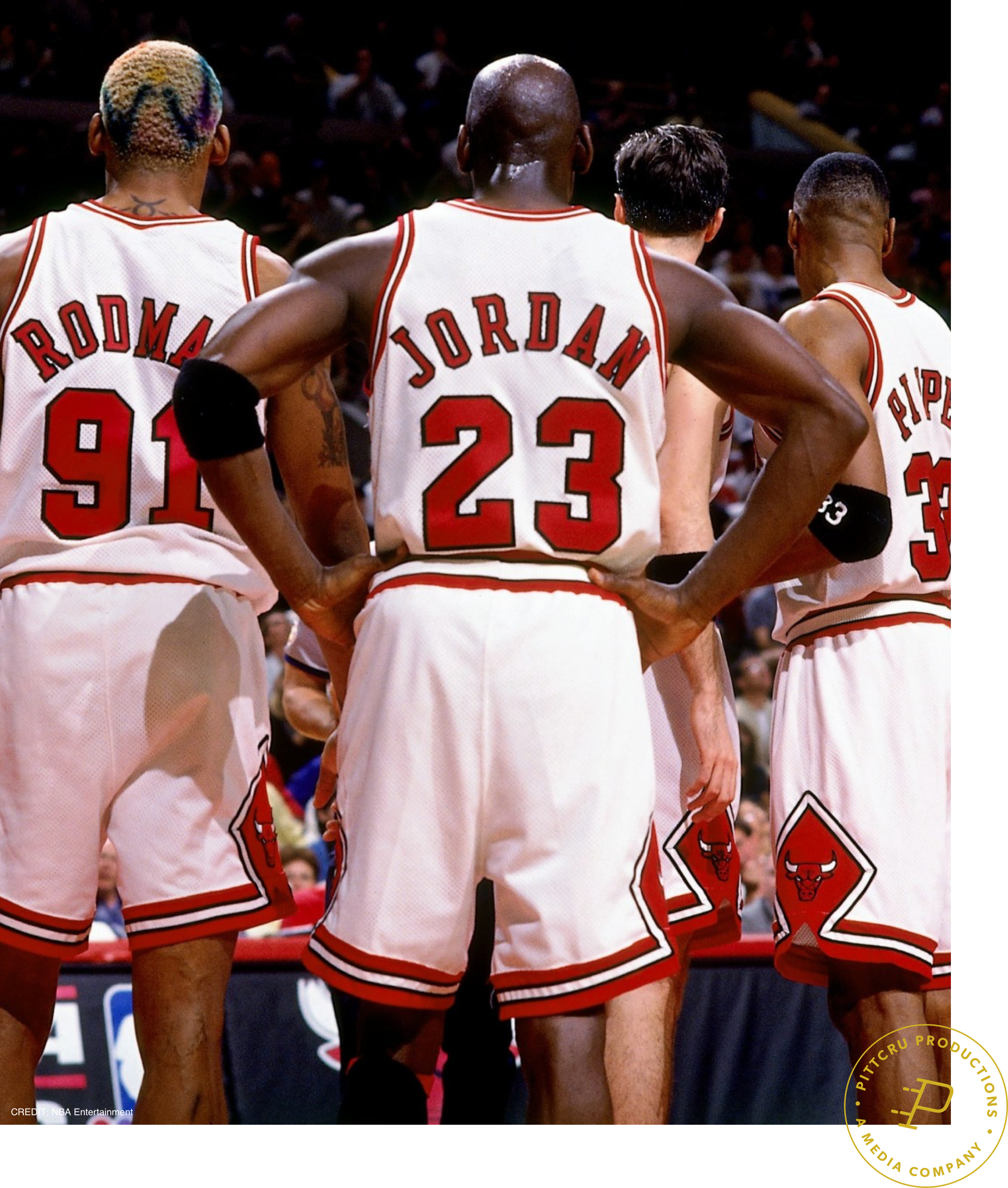The Last Dance - Teaming up once again with director Jason Hehir, PittCru is producing a 10-part documentary series on the Chicago Bulls' 1998 season, featuring Michael Jordan.The production is a joint venture with ESPN & Netflix. Slated for 2019.Watch the Teaser