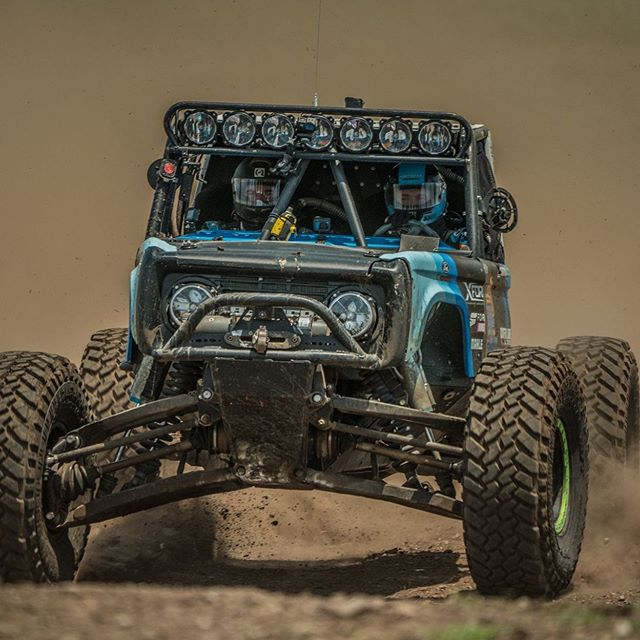 @vaughngittinjr  pushing through the dust at Crossbar Ranch! #ultra4racing #ultra4