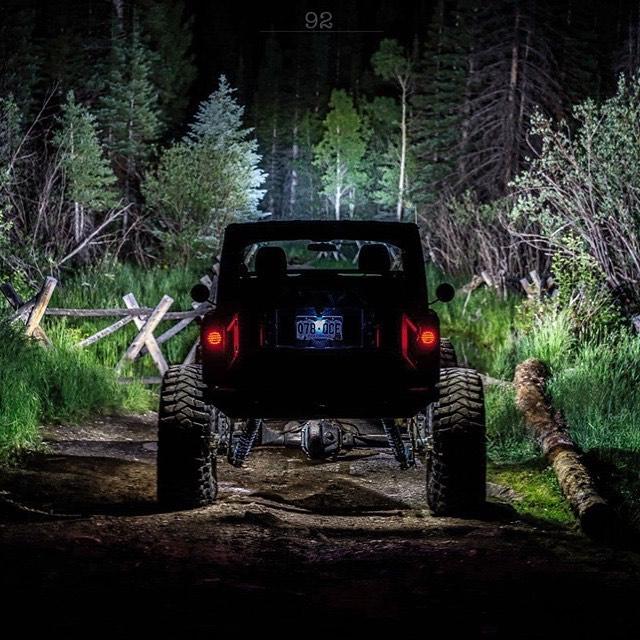 Feeling thankful for the ability to explore.  #rigidindustries #rigidnation #maxxis #maxxistrepador #jkon42s #jeepwrangler #jeep #jku #jkontons #kingshocks #nightwheeling