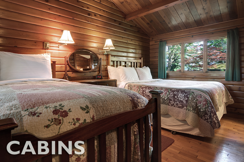 Oceanfront or garden view cozy cedar cabins surrounded by beautiful gardens, towering firs and magnificent views... True relaxation awaits you.