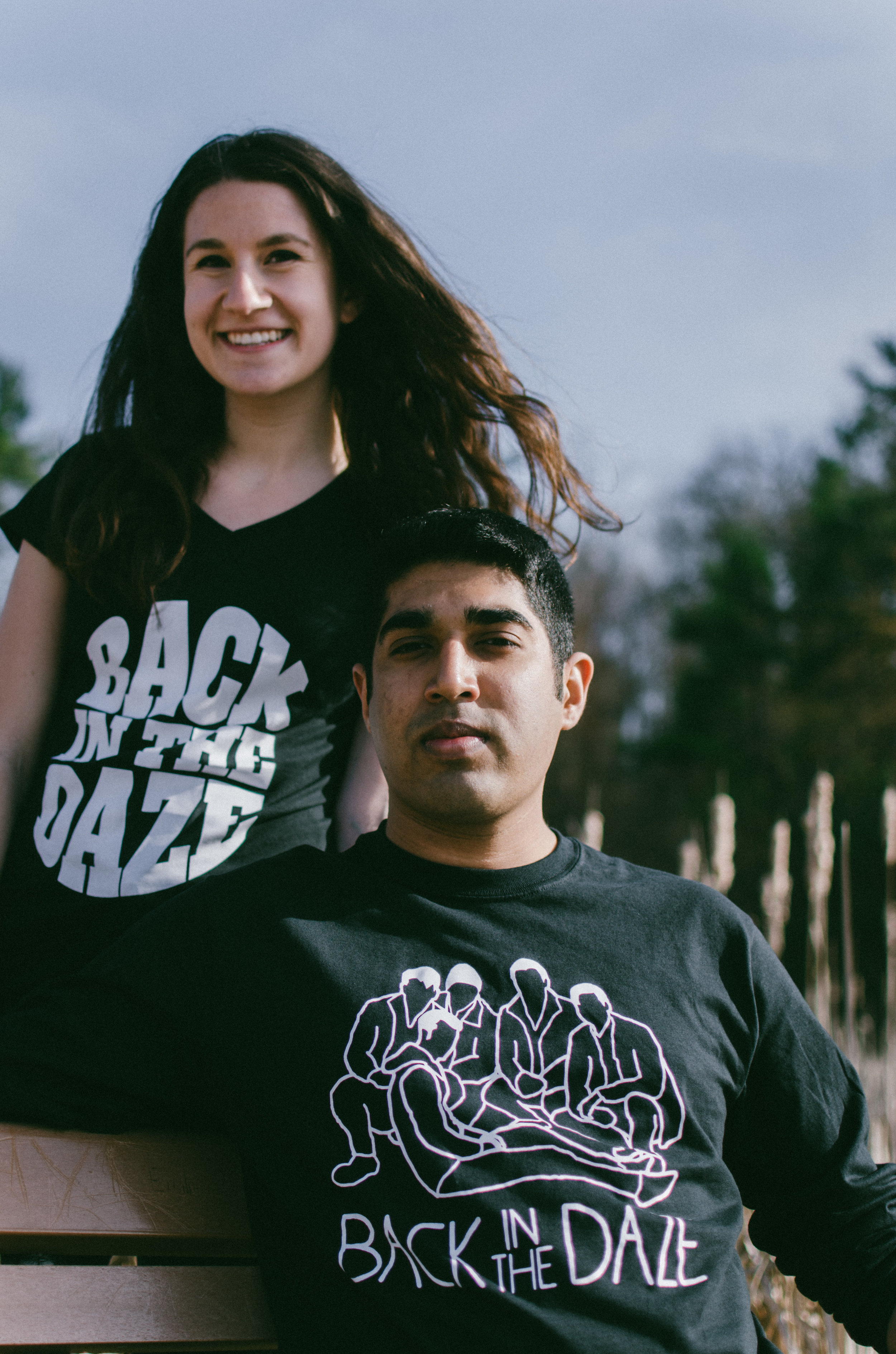Models (Left to Right):Michelle Goldsand & Uwais Patel Photo by  William Dang Photography